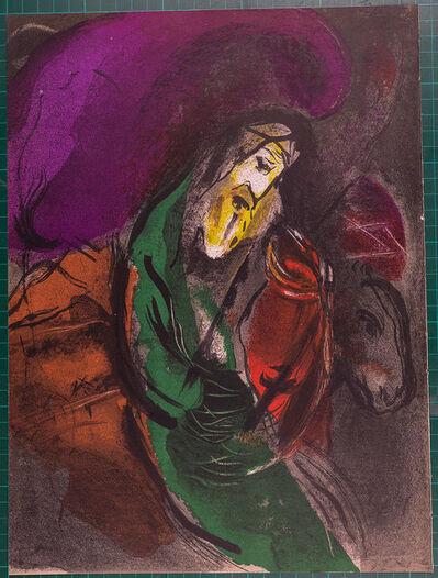 Marc Chagall, 'La Bible : Jeremiah', 1956