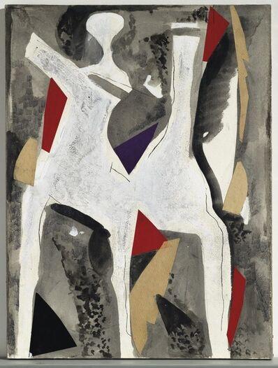Marino Marini, 'Giocolieri e Cavallo', 1973