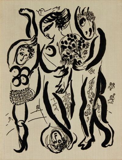 Marc Chagall, 'Marc Chagall Das Graphische Werk', 1957
