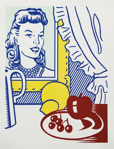 Roy Lichtenstein, 'Still Life with Portrait, from Six Still Lifes Series', 1974