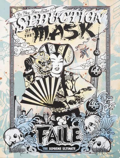 FAILE, 'Seduction Of The Mask (Green)', 2007