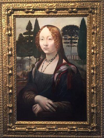 Wolfe von Lenkiewicz, 'Mona Lisa', 2014