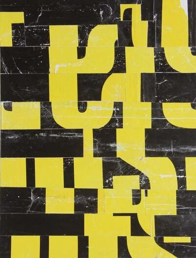 Cecil Touchon, 'Fusion Series 3447 (Paris Papers) '
