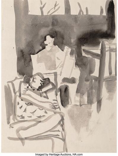 David Park, 'Study for Interior', 1957
