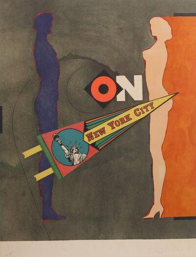 Richard Lindner, 'On (New York City)', 1968