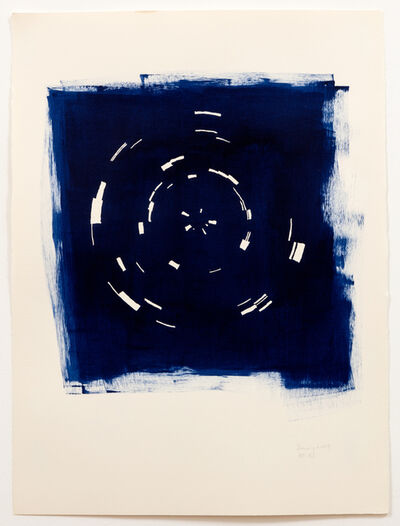 Annette Lawrence, 'Indigo January 2019', 2019