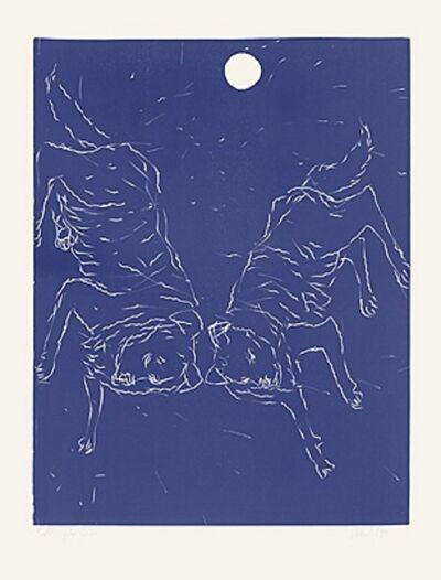 Georg Baselitz, 'Zwei Hunde', 1999