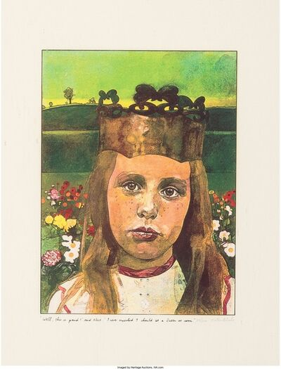 Peter Blake, 'Alice in Wonderland', 1970