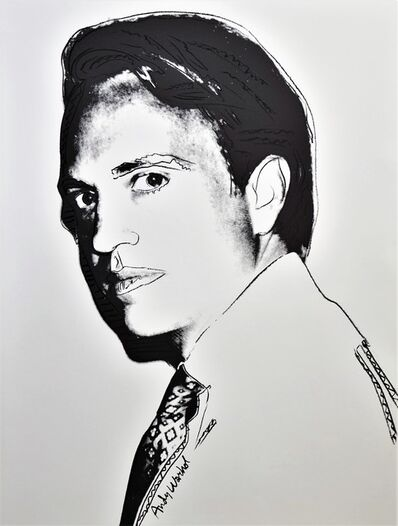 Andy Warhol, 'Carter Burden - unique -', 1977