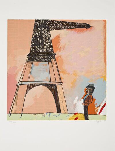 Antonio Seguí, 'La Tour Eiffel', ca. 1990