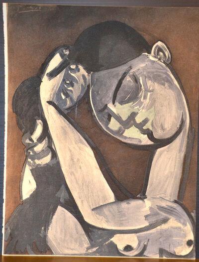 (after) Pablo Picasso, 'Femme se coiffant', 1956