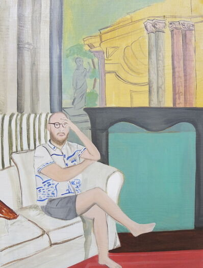 Evie O'Connor, 'Villa Sermolli (afternoon fuck) 2', 2018