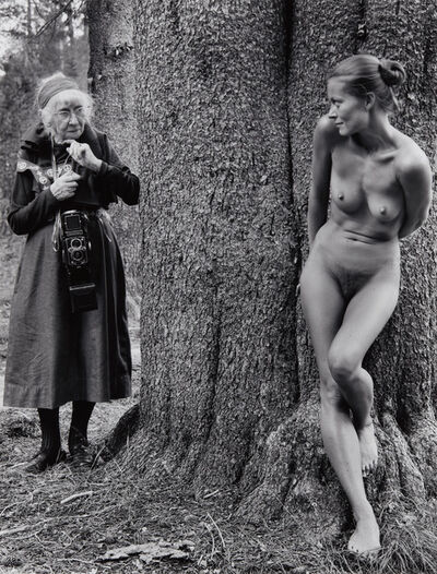 Judy Dater, 'Imogen and Twinka at Yosemite', 1974