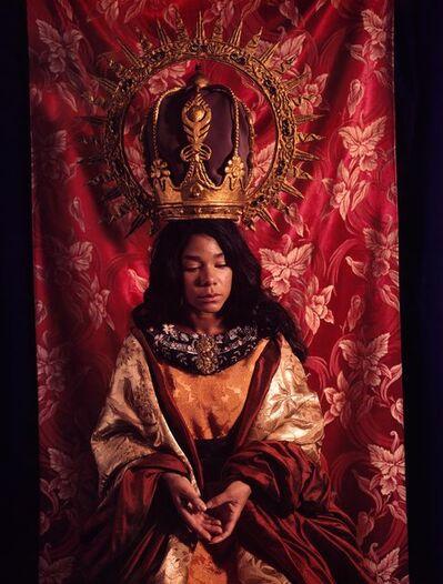 Rose Farrel & George Parkin, 'La Madonna Negra (Black Madonna in Red) ', 1989