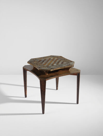 Eugène Printz, 'Rare games table with convertible chessboard top', circa 1935