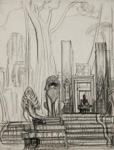 André Maire, 'Naga and lion, Angkor', 1948-1958