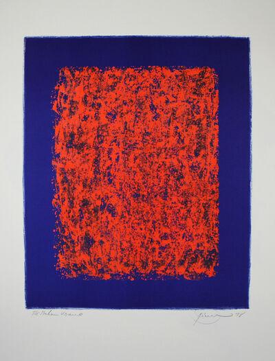 Otto Piene, 'Sponge', 1978