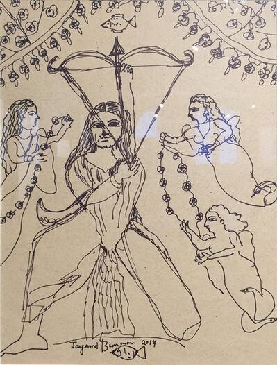 Jayasri Burman, 'From the Draupadi Series 22', 2017