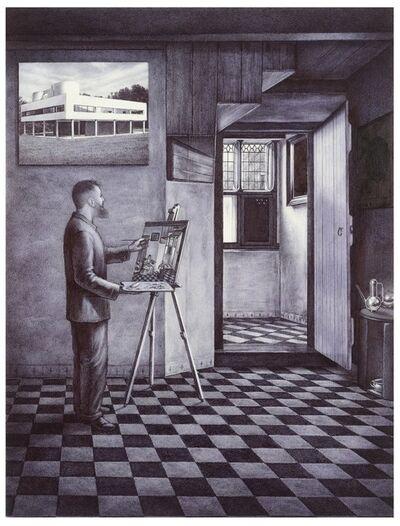Giuseppe Stampone, 'Autoportrait en temps de COVID', 2020