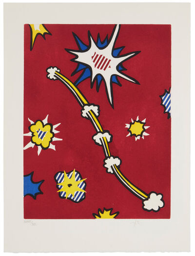 Roy Lichtenstein, 'De Denver au Montana, Départ 27 Mai (II) 1972', 1992
