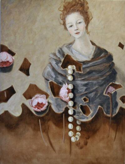 Adam Leech, 'Peonies and Pearl', 2019