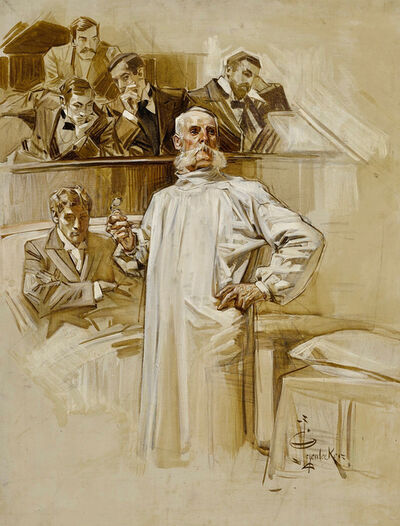 Joseph Christian Leyendecker, 'Mortman', 20th Century