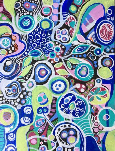 Eva Holz, 'Abstracto vegetal', 2018