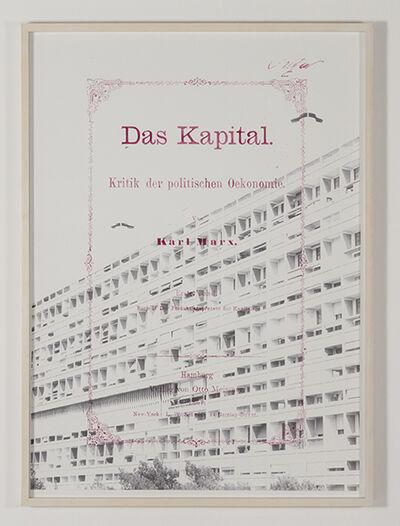 Enrique Hernandez, 'Das Kapital', 2015