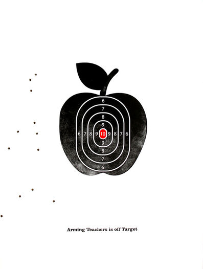 virgil scott, 'Arming Teachers is Off Target', 2018