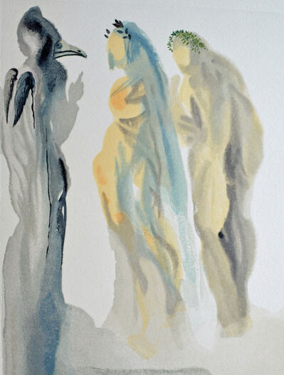 Salvador Dalí, 'The Sphere of Venus, Paradiso canto 9, The Divine Comedy', 1960