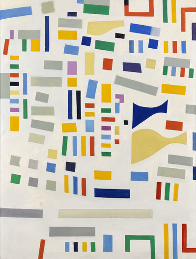 Caziel, 'WC658 - Abstract Composition 1967/XI/13', 1967