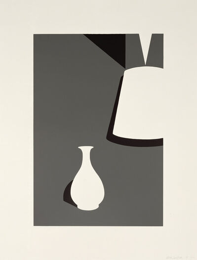 Patrick Caulfield, 'Lamp and Lung Ch'uan Ware', 1990