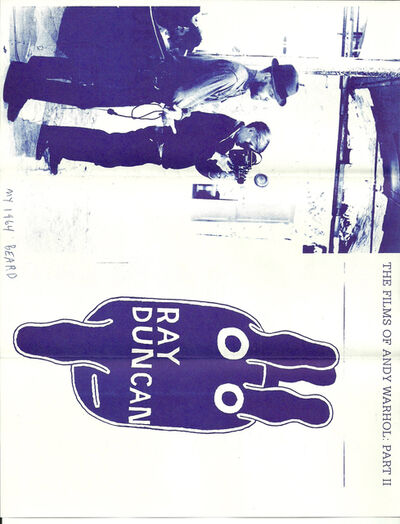 Ray Johnson, 'Mail Art + Ephemera, Dear Raphael Rubinstein at Art In America (My 1964 Beard)', ca. 1995