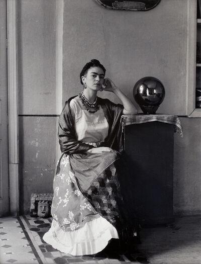 Manuel Álvarez Bravo, 'Frida Kahlo Con Globo de Vidrio', 1938