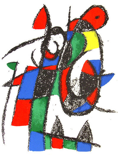 Joan Miró, 'COMPOSITION', 1975
