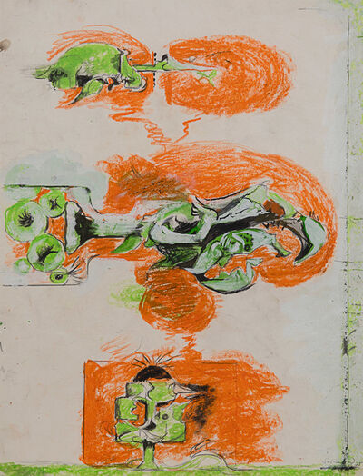 Graham Sutherland, 'Study for Firebird', 1975