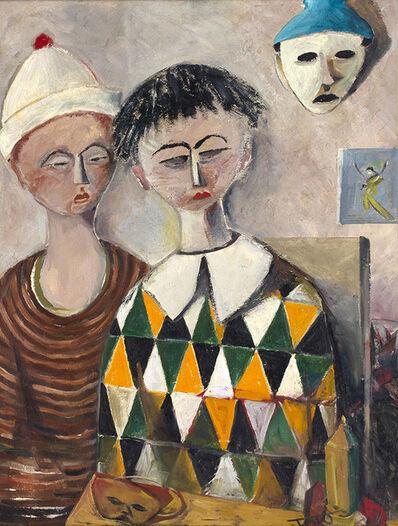Tato, 'Two clown', 1950