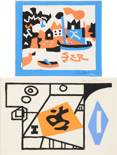 Stuart Davis, 'Ivy League', 1953