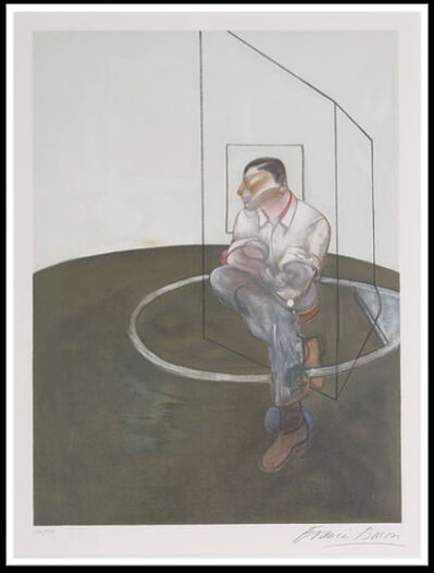 Francis Bacon, 'Portrait de John Edwards', 1986