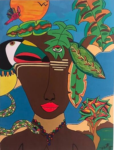 Phillipe Seigle, 'A Garota da Amazônia', 2019