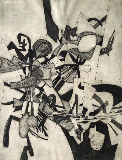 Fred Becker, 'Scaffolding', 1952