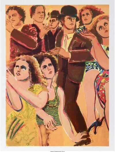 Lester Johnson, 'New York Dancer 5', circa 1980