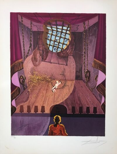 Salvador Dalí, 'The Prison', 1969