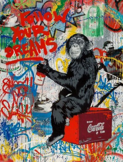 Mr. Brainwash, 'Follow Your Dreams', 2012