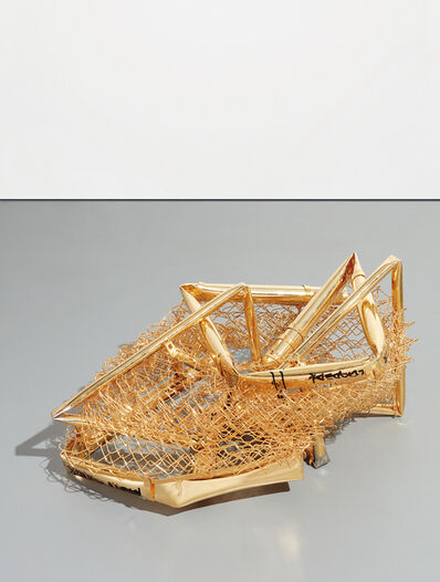 Aaron Young, 'Tumbleweed (Crushed Fence)', 2009