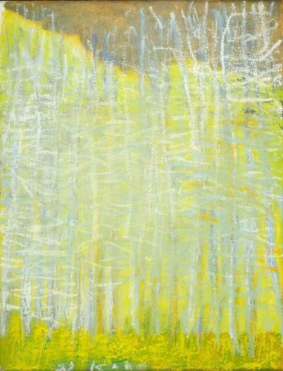 Wolf Kahn, 'Tending Toward Yellow II', 2011