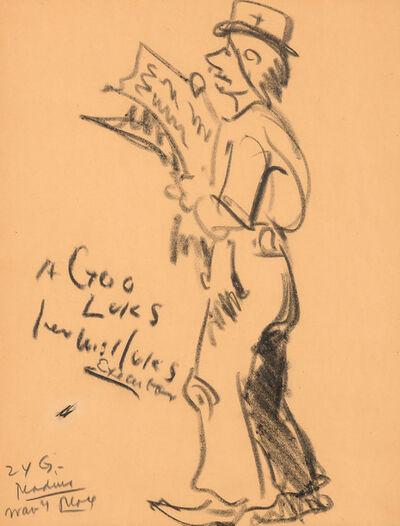 George Benjamin Luks, 'Hard Times', 1925