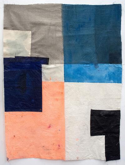 Alexandra Hopf, 'Poster 08, from the series: Big Posters (Lumpen Constructivism)', 2013