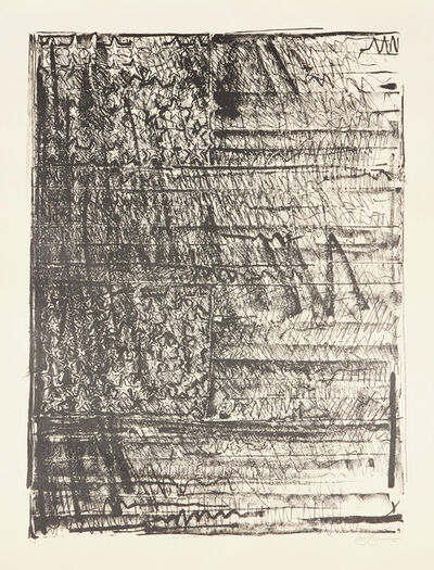Jasper Johns, 'Two Flags', 1981