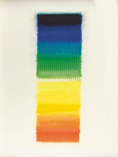Heinz Mack, 'Regenbogen', 1989